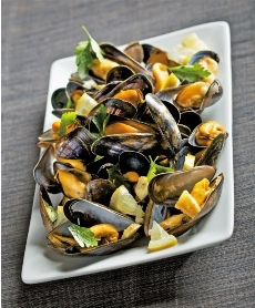 Moules au citron